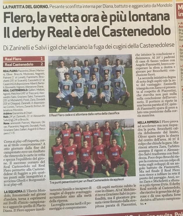 Real Flero - Real Castenedolo