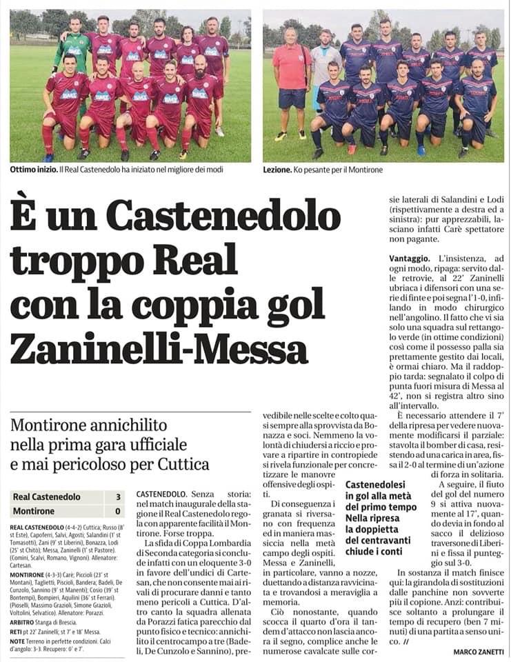 6 Settembre Giornale di Brescia
